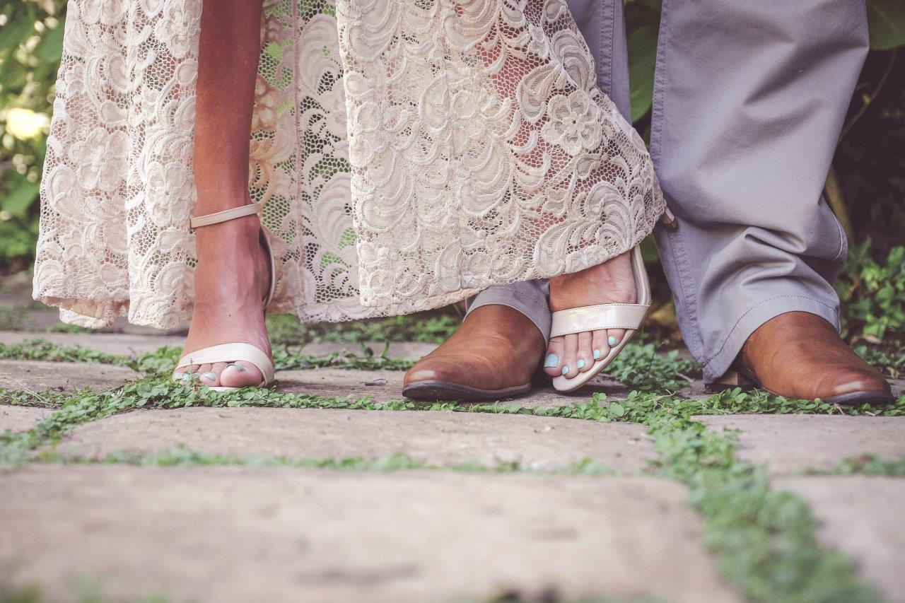 married couples feet